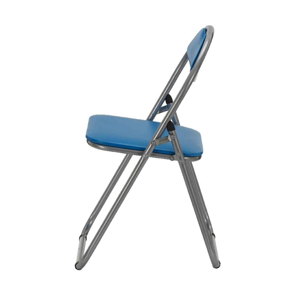 Bulk Buy 12 x Padded Folding Chair Blue
