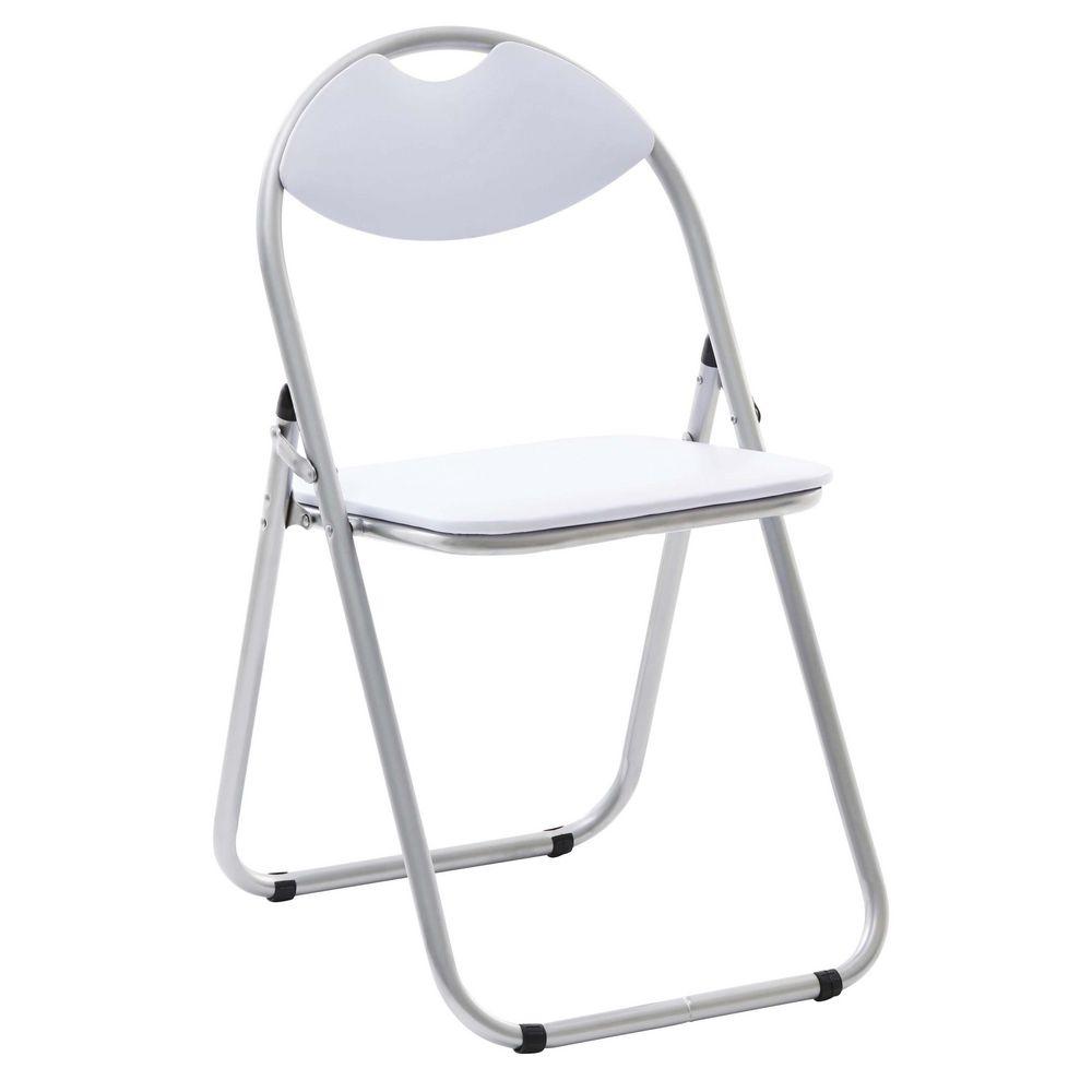 Bulk Buy 12 x Padded Folding Chair White