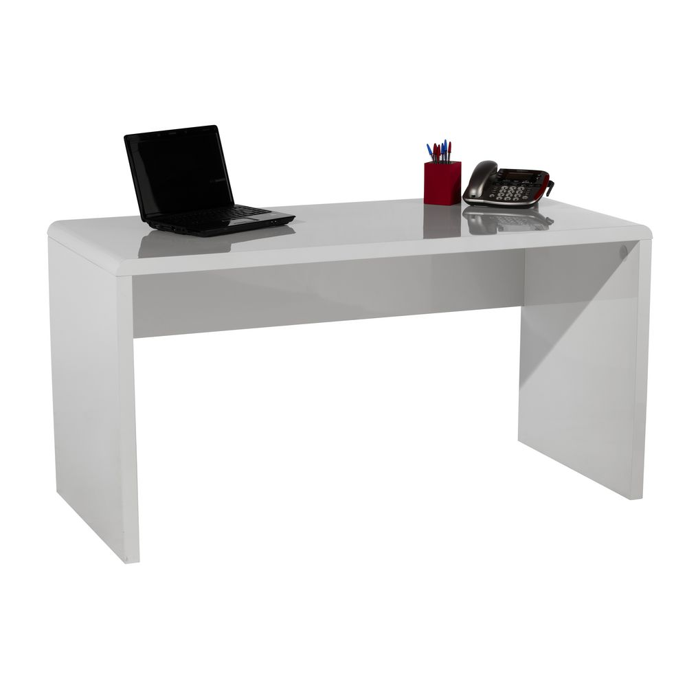 Image Gallery Large White Desk