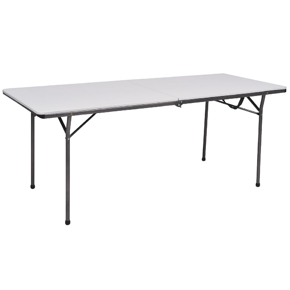 6 foot bi fold table ebay for Table 6 feet