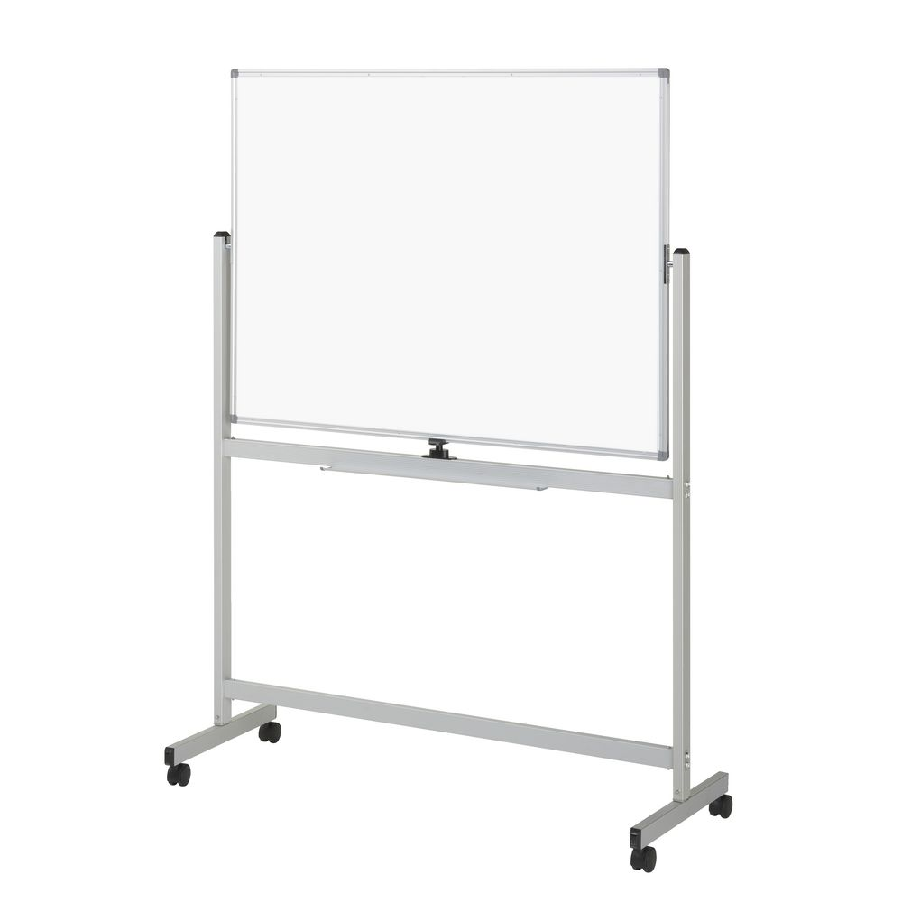 new ucomm whiteboard mobile whiteboard 900 x 1200 mm ebay. Black Bedroom Furniture Sets. Home Design Ideas