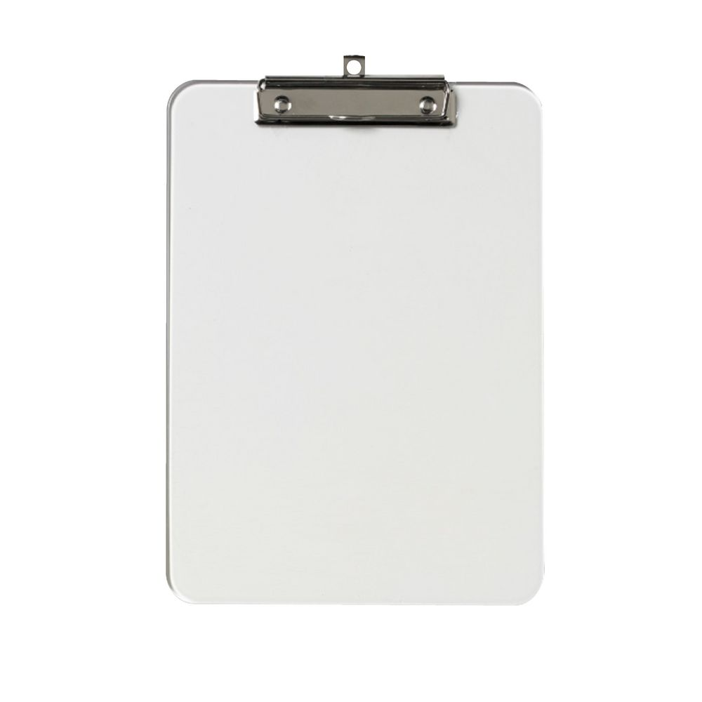 clipboard with paper inside