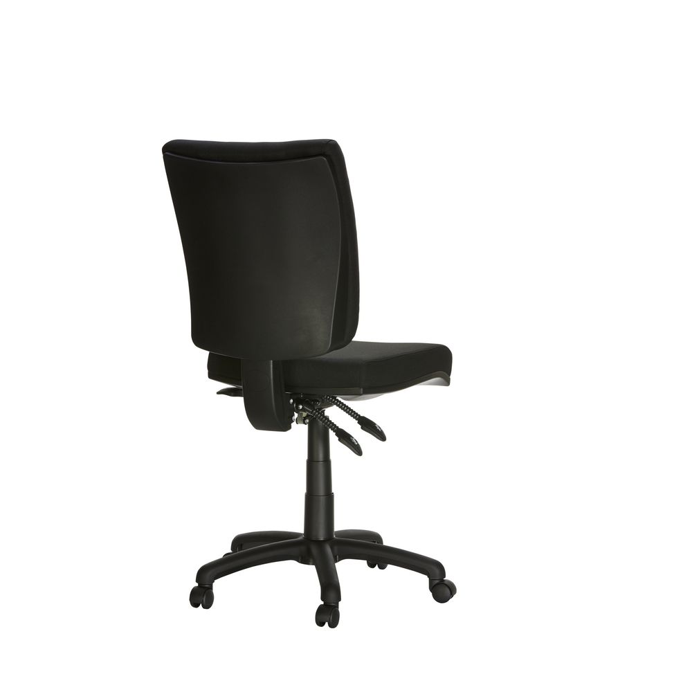 Flash Deluxe Heavy Duty Ergonomic Chair Black Officeworks
