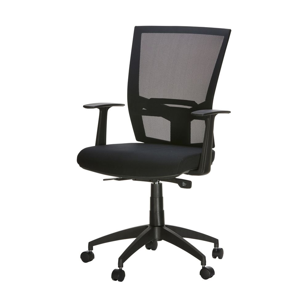 Radar Plus Mesh Back Chair Black Officeworks