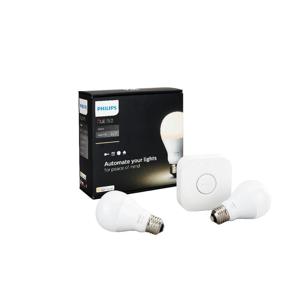 philips hue white e27 starter kit ebay. Black Bedroom Furniture Sets. Home Design Ideas
