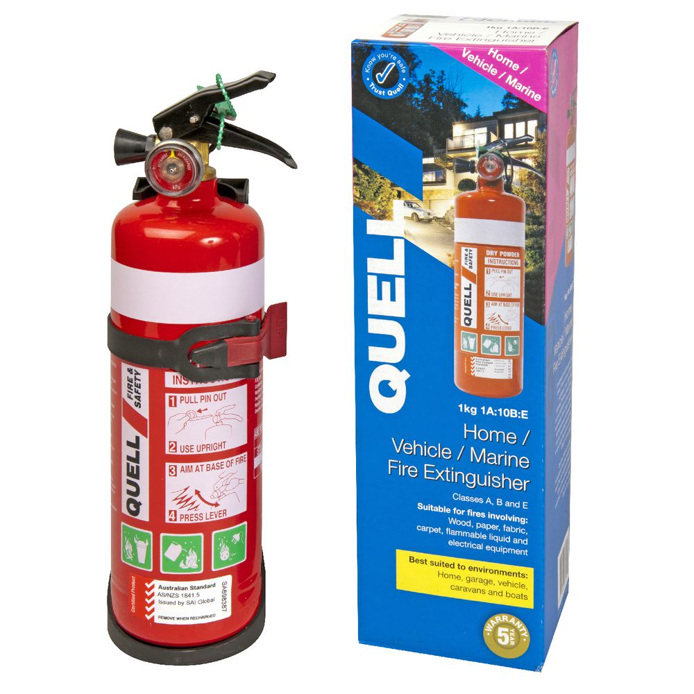 Quell Home Vehicle And Marine Fire Extinguisher Ebay