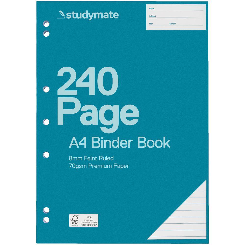 Studymate Premium A4 Binder Book 240 Page