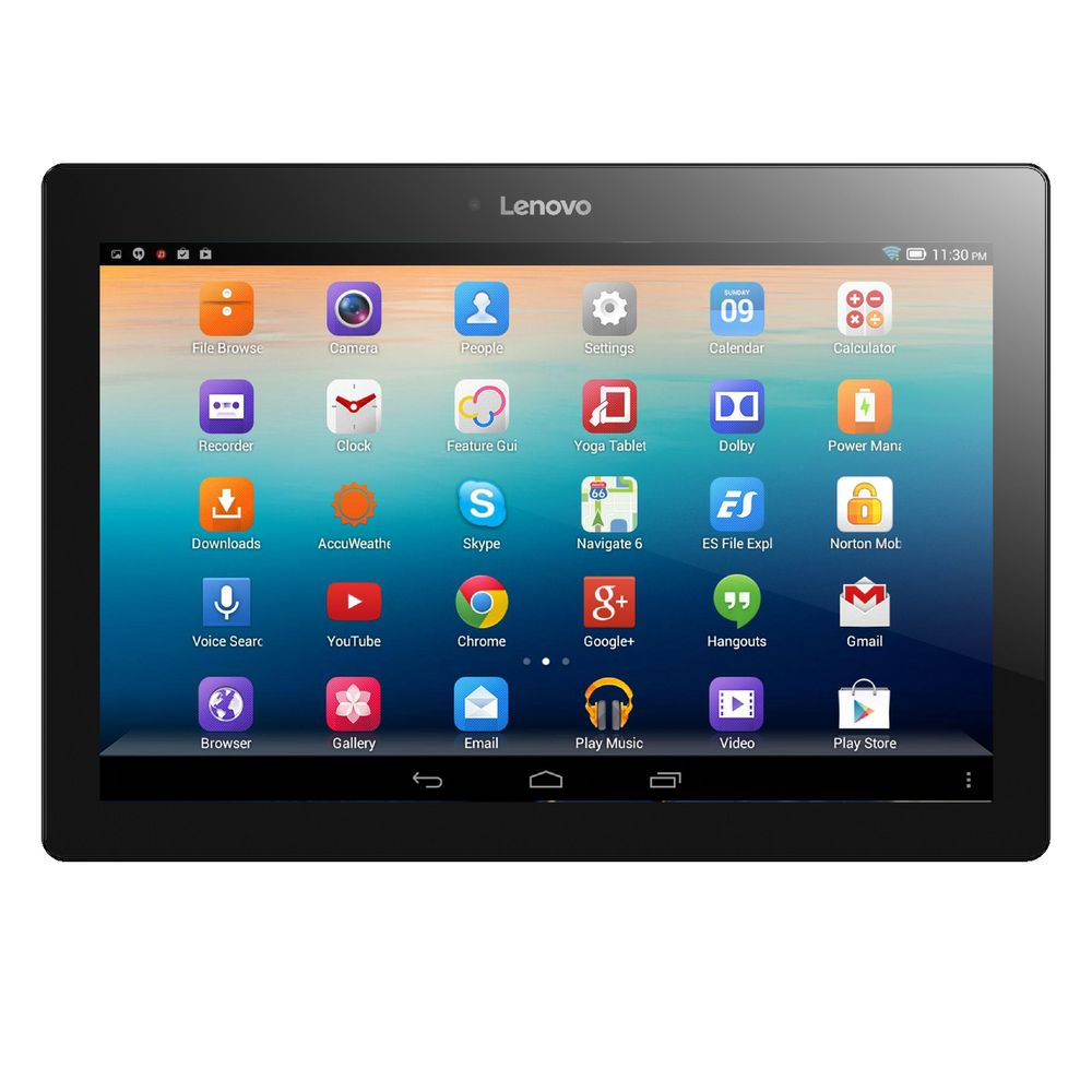 lenovo tab 2 10 1 tablet blue a10 30 ebay. Black Bedroom Furniture Sets. Home Design Ideas
