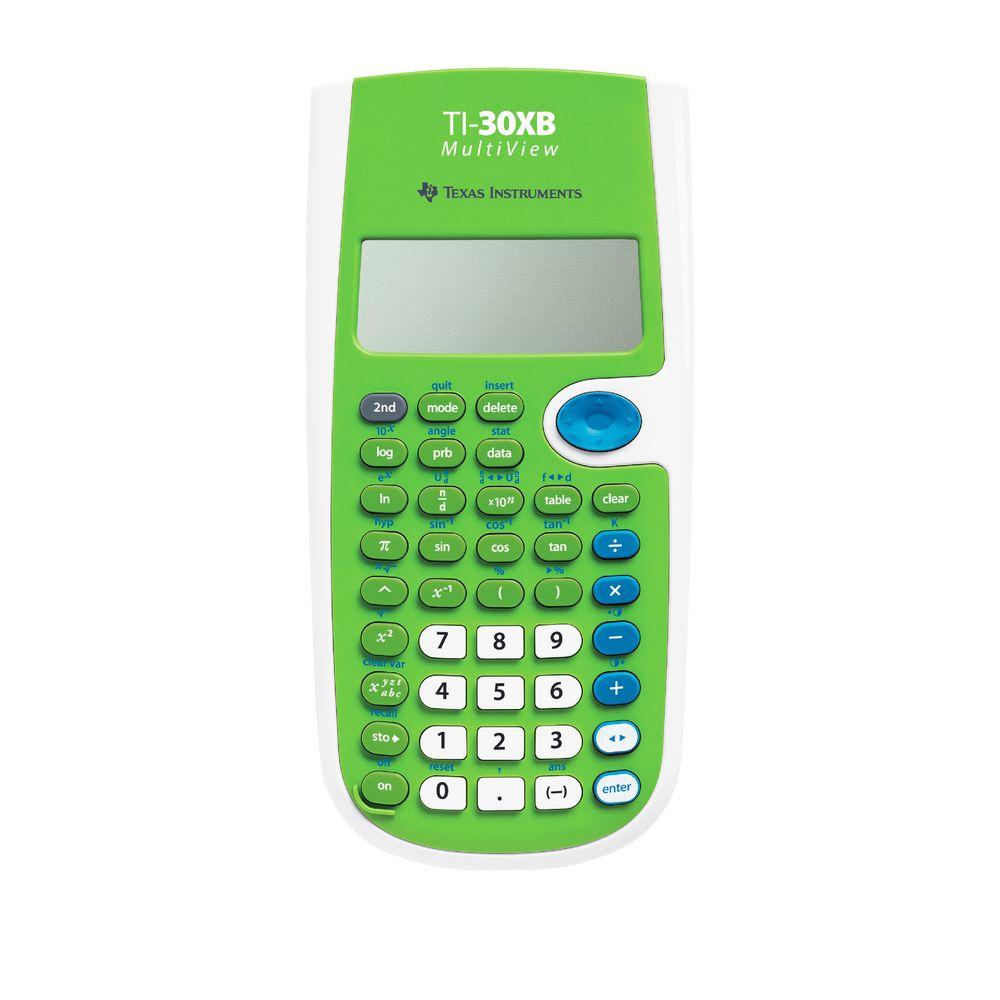 Texas Instruments Ti 30xb Multiview Scientific Calculator