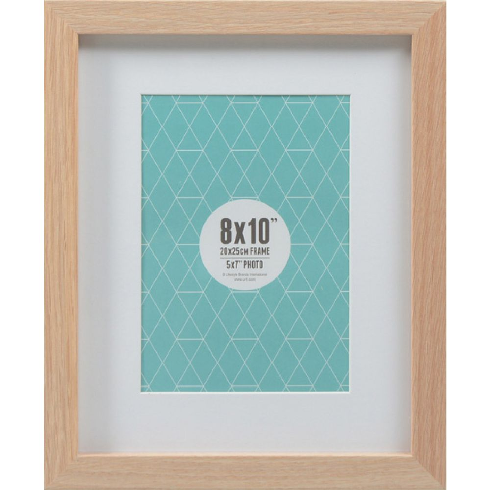 Promenade Frame 8 X 10 With 5 X 7 Opening Oak Ebay