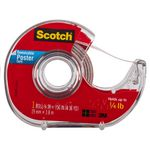 Scotch Removable Poster Tape Dispenser 19mm x 3.8m
