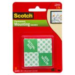 Scotch Foam Permanent Mounting Squares 12 Pack