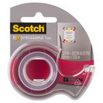 Scotch Expressions Tape 19mm x 7.6m Red