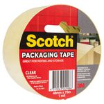 Scotch Packaging Tape Clear 48mm x 75m