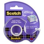 Scotch Gift Wrap Adhesive Tape Dispenser 19mm x 16.5m