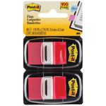 3M Post-it Flags Twin Pack Red