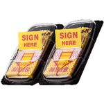 Post-it Flags Sign Here Yellow 2 Pack
