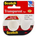 Scotch Transparent Adhesive Tape with Dispenser 19mm x 7.62m