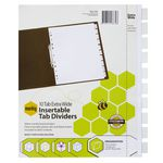 Marbig A4 Extra Wide Insertable Divider 10 Tab