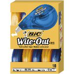 BIC Wite-Out Correction Tape 4mm x 12m 10 Pack