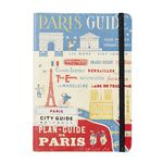 Cavallini City Guide Notebook Paris
