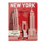 Cavallini Notebook New York 2 Pack