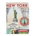Cavallini Mini Notebook New York 3 Pack