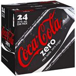 Coca-Cola Zero Cans 375mL 24 Pack