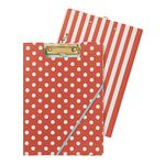 Clipfolder A4 Spot and Stripe Red