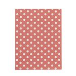 Display Book A4 Hard Cover 20 Pocket Fixed Spot/Stripe Pink