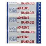 Fildes Food Safety Adhesive Strips Blue 100 Pack