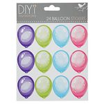 DIYi Balloon Stickers 24 Pack