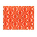 Document Wallet A4 Printed PP Orange and White