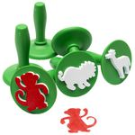 Educational Colours Paint Stampers Jungle Animals 6 Pack