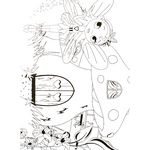 ELC Giant Colouring Posters Fairy Design 2 Pack