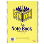 Spirax No.595A Notebooks 240 Page 5 Pack