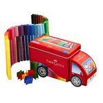 Faber-Castell Truck with 33 Connector Pens
