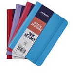 J.Burrows A6 Week to View 2016 Fun PU Diary Blue