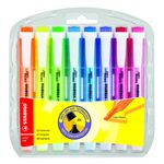 Stabilo Swing Cool Highlighter Assorted 8 Pack