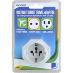Jackson Visiting Tourist Travel Adaptor USA and Asia