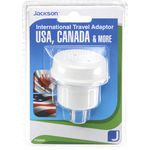 Jackson Outbound USA 3 Pin Travel Adaptor