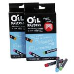 Micador Oil Pastels 12 Pack
