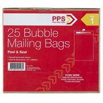 PPS Size 1 Bubble Mailing Bags Box of 25