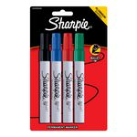 Sharpie Pro Metal Permanent Markers Assorted 4 Pack