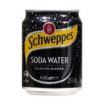Schweppes Soda Water 250mL 24 Pack