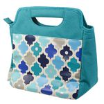 Smash Chicago Insulated Lunch Bag Moroccan Tiles
