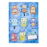 Studymate Book Cover Scrapbook Robots
