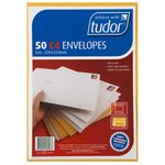 Tudor Premium C4 Business Envelopes Kraft 50 Pack