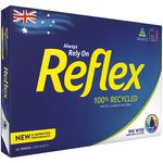Reflex 100% Recycled 80gsm A3 Copy Paper 500 Sheet Ream