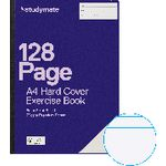 Studymate Premium A4 Hardcover Exercise Book 128 Page